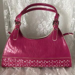 Mondani NY Hot Pink Satchel Purse